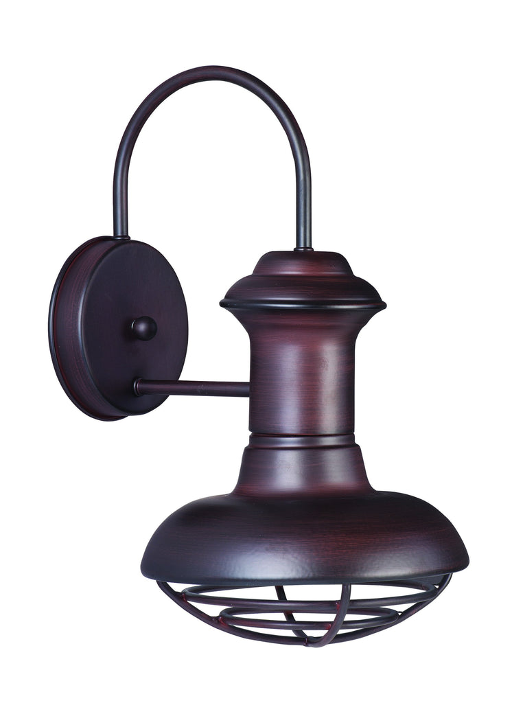 Wharf 1-Light Outdoor Wall Lantern Oriental Bronze - C157-35011OB