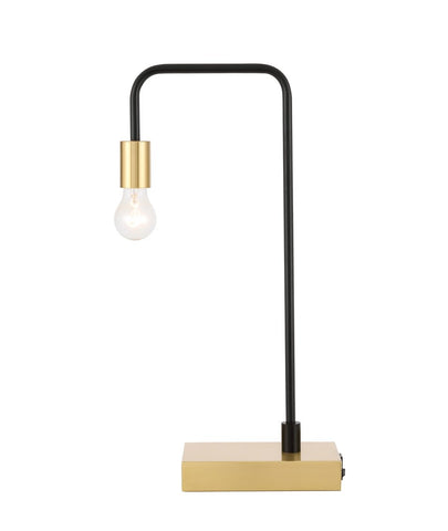 ZC121-TL3048BK - Regency Decor: Marceline 1 light Black Table Lamp