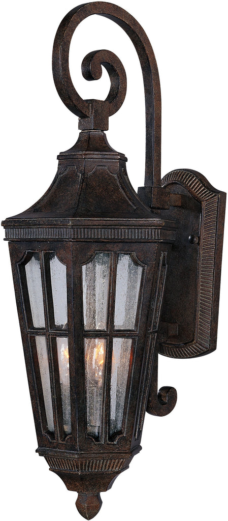 Beacon Hill VX 3-Light Outdoor Wall Lantern Sienna - C157-40154CDSE