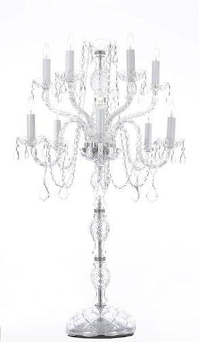Set Of 10 Wedding Candelabras Candelabra Centerpiece Centerpieces - Great For Special Events - Set Of 10 - G46-B45/545/5-Set Of 10