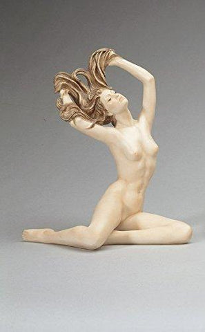"A. Santini Alabaster ""Freedom Collection"" Nude Figurine - Signed by the Artist - Made in Italy! - GB104-C/845"