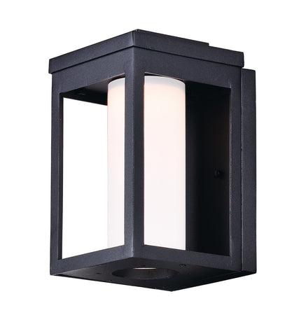 Salon LED 1-Light Outdoor Wall Black - C157-55902SWBK