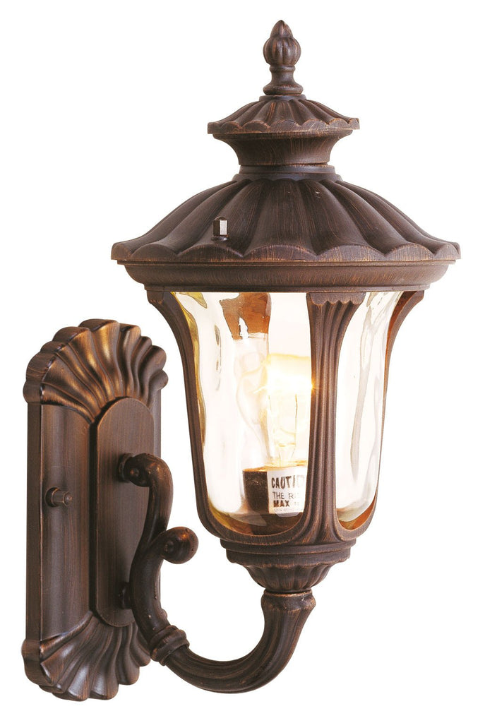 Livex Oxford 1 Light IB Outdoor Wall Lantern - C185-7650-58