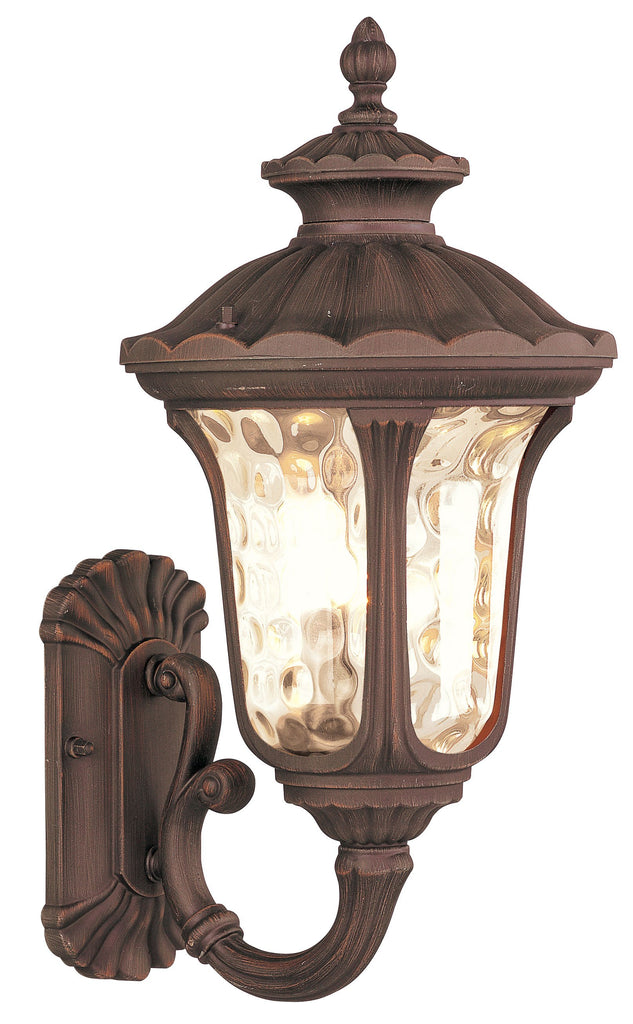 Livex Oxford 1 Light IB Outdoor Wall Lantern - C185-7652-58