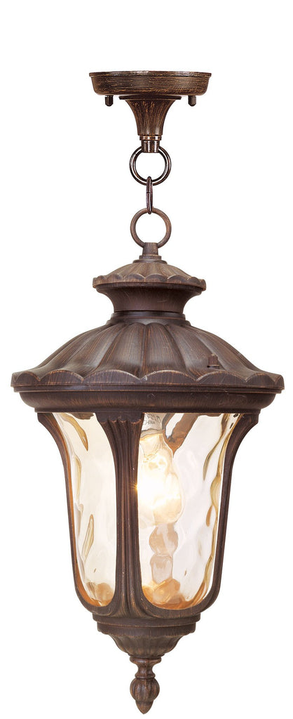 Livex Oxford 1 Light Imperial Bronze Chain Lantern - C185-7654-58