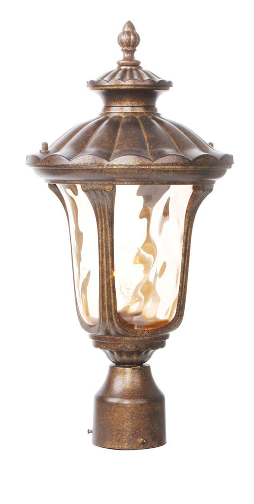 Livex Oxford 1 Light MG Outdoor Post Lantern - C185-7655-50
