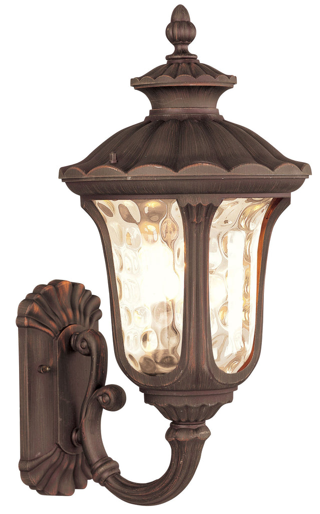Livex Oxford 3 Light IB Outdoor Wall Lantern - C185-7656-58