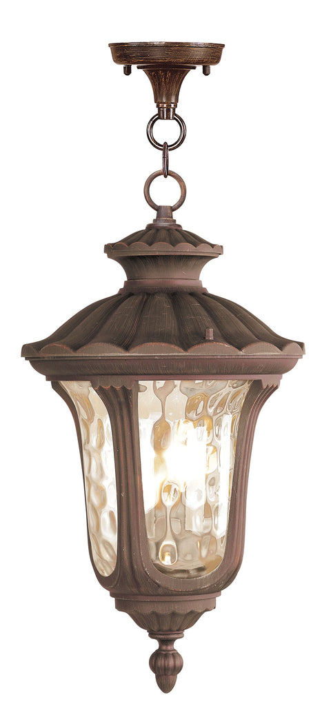 Livex Oxford 3 Light Imperial Bronze Chain Lantern - C185-7658-58