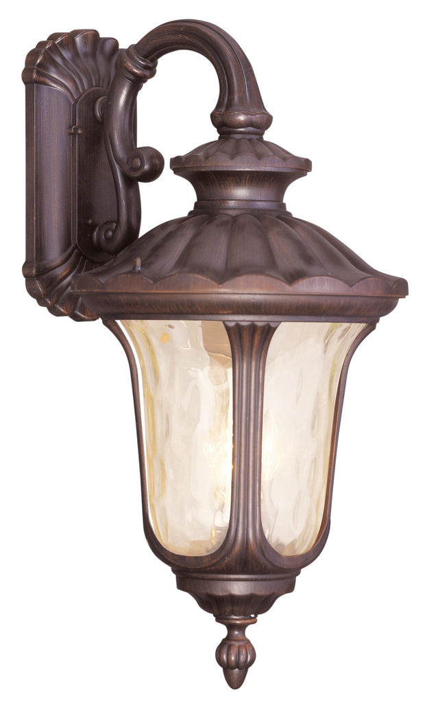 Livex Oxford 3 Light IB Outdoor Wall Lantern - C185-7663-58
