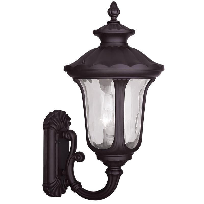 Livex Oxford 3 Light Bronze Outdoor Wall Lantern - C185-7856-07