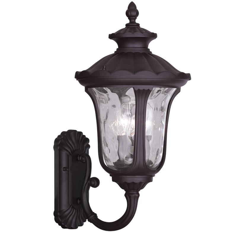 Livex Oxford 3 Light Bronze Outdoor Wall Lantern - C185-7862-07