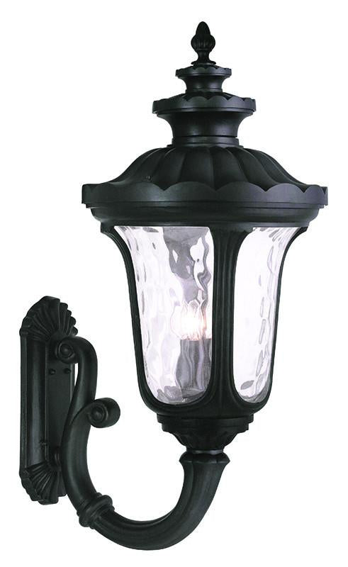 Livex Oxford 4 Light Black Outdoor Wall Lantern - C185-78700-04