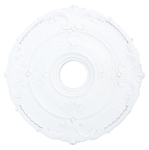 Livex Buckingham White Ceiling Medallion - C185-82031-03