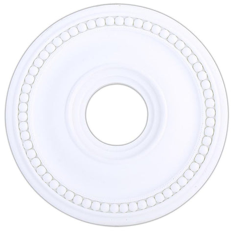 Livex Wingate White Ceiling Medallion - C185-82073-03