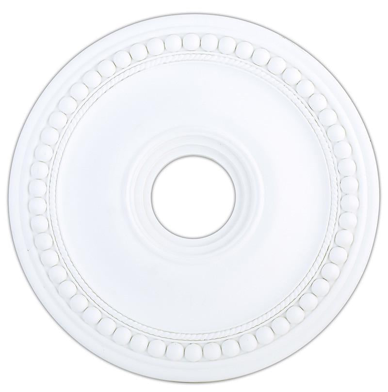 Livex Wingate White Ceiling Medallion - C185-82074-03