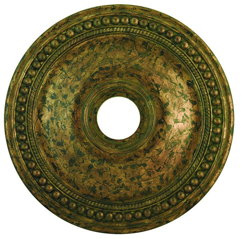 Livex Wingate Venetian Golden Bronze Ceiling Medallion - C185-82075-71