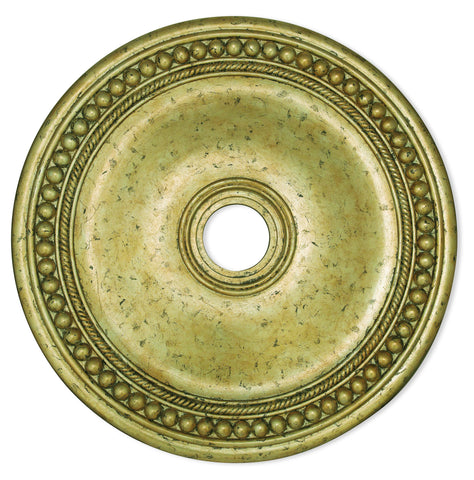 Livex Wingate Winter Gold Ceiling Medallion - C185-82076-28