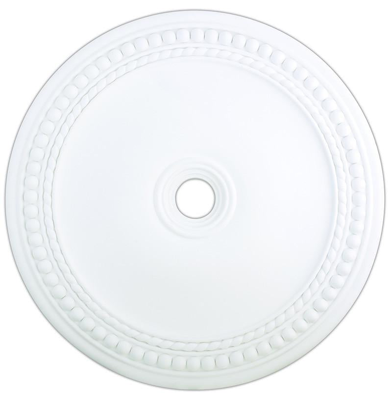 Livex Wingate White Ceiling Medallion - C185-82078-03