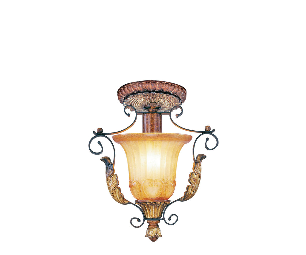 Livex Villa Verona 1 Light VBZ Ceiling Mount - C185-8578-63