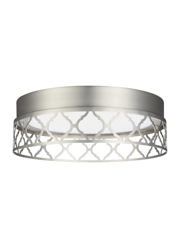 Murray Feiss 1 - Light Indoor LED Flush Mount Satin Nickel - C140-FM501SN-LED