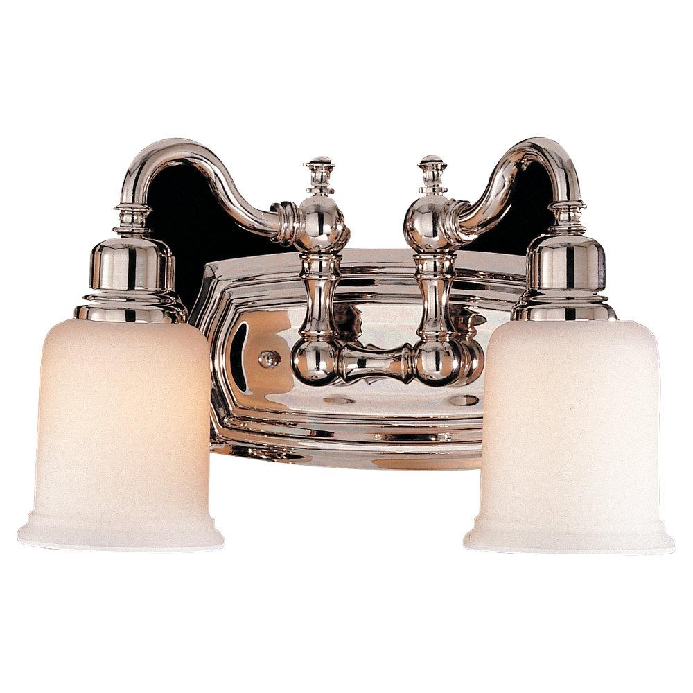 Murray Feiss 2 Bulb Polished Nickel Vanity  - C140-VS8002-PN