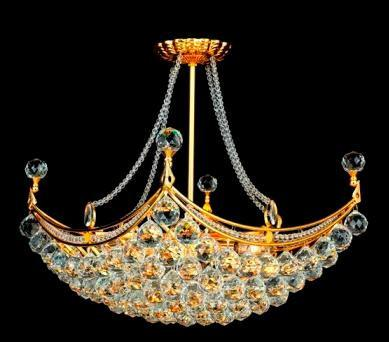 C121-GOLD/9800/2820 Corona CollectionEmpire Style CHANDELIER Chandeliers, Crystal Chandelier, Crystal Chandeliers, Lighting