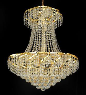 C121-GOLD/ECA001/2226 Belenus CollectionEmpire Style CHANDELIER Chandeliers, Crystal Chandelier, Crystal Chandeliers, Lighting
