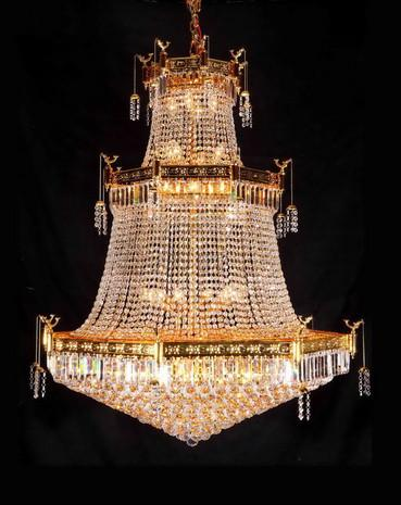 H906-929/32 Gallery Empire Style Empire Chandelier