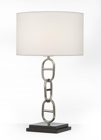 Vieux Port Table Lamp Contemporary Transitonal Modern Polished Nickel Living - GO-T204-GM-C0032T