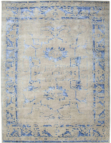 Handknotted Wool Arte Rug Area Rug 8 X 10 - J10-IN-400-8X10