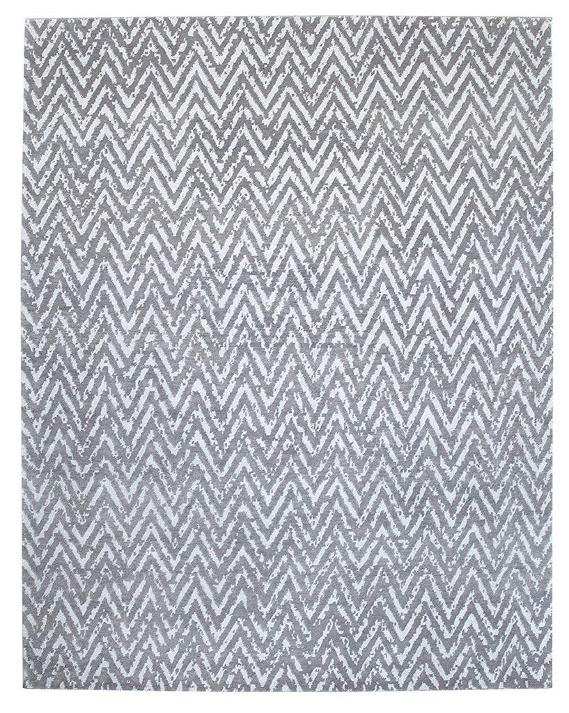 Handknotted Metallic Zia Area Rug 8 X 10 - T302-IN-403-8X10
