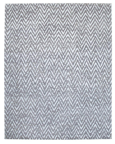 Handknotted Metallic Zia Area Rug 8 X 10 - J10-IN-403-8X10
