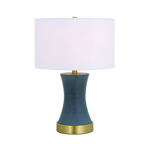 ZC121-TL3036BR - Regency Decor: Knox 1 light Brass Table Lamp