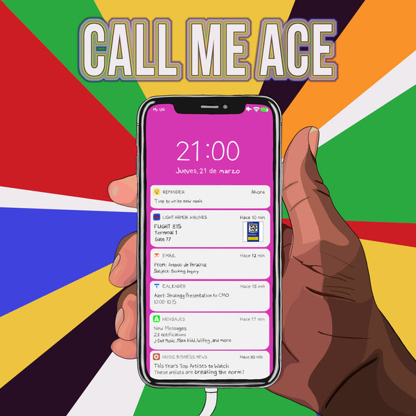 Call Me Ace - Black Season (feat. Mick Jenkins) (Official Digital Track) - Light Armor Music