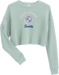HGS OOO Crop Sweatshirt - Dusty Blue