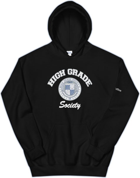 High Grade Society OOO Hoodie - Black