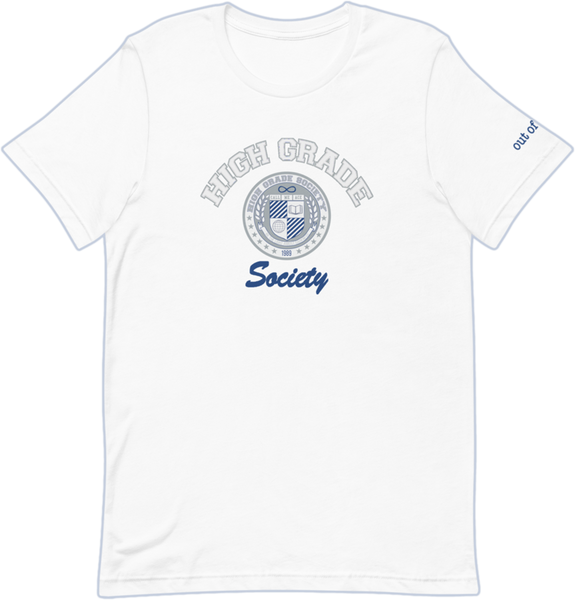 High Grade Society OOO Tee - White