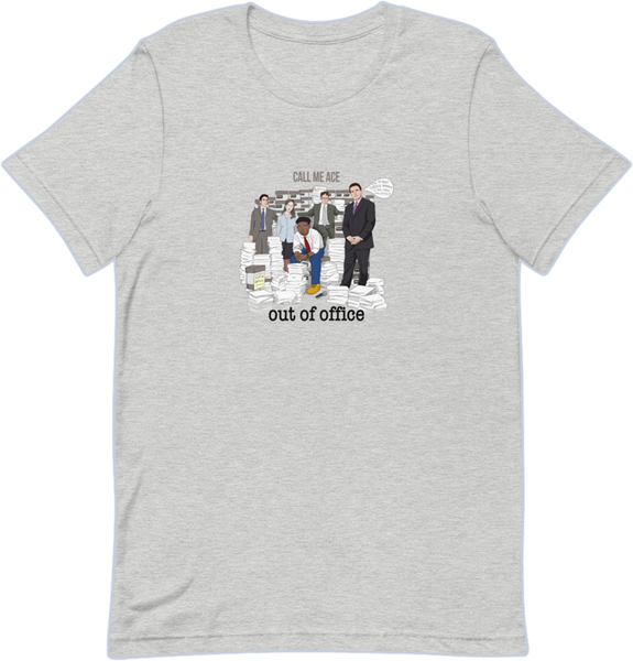 Out Of Office Album Tee - Gray