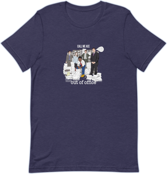 Out Of Office Album Tee - Navy