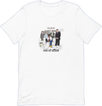 Out Of Office Album Tee - White