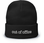Out Of Office Beanie - Black