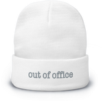 Out Of Office Beanie - White