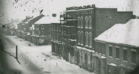 William Gregory's first properties he built at 400 King Street.