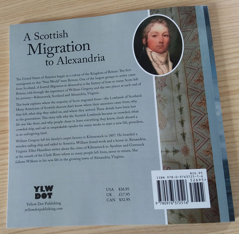 Back cover of A Scottish Migration to Alexandria