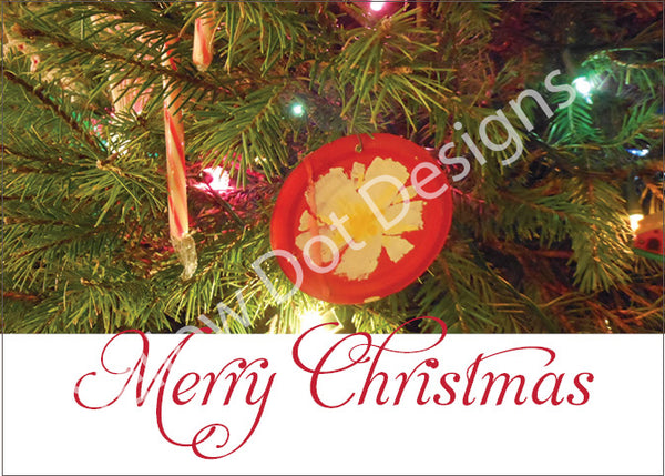 Christmas Card-Ornament - 006