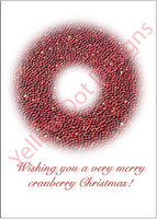 Christmas Wreath Card - 008