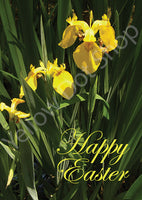 Easter Card-Lillies - 046