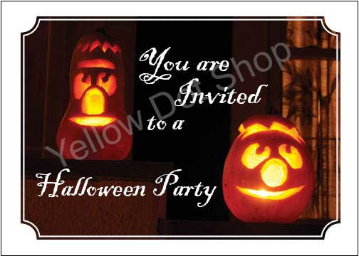 Halloween Party Invitation 016
