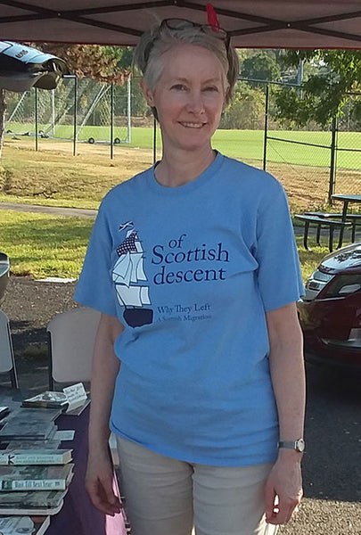 Book Fund-Raiser Scottish T-Shirt