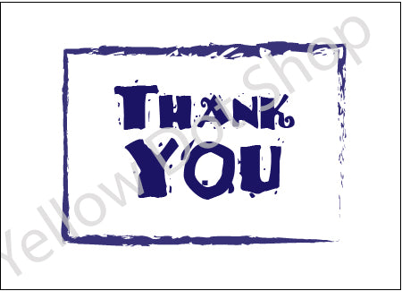 Thank You Card 019 - New!
